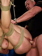 Mark Davis locks up and breaks his cumslut Princess Donna from Sex and submission